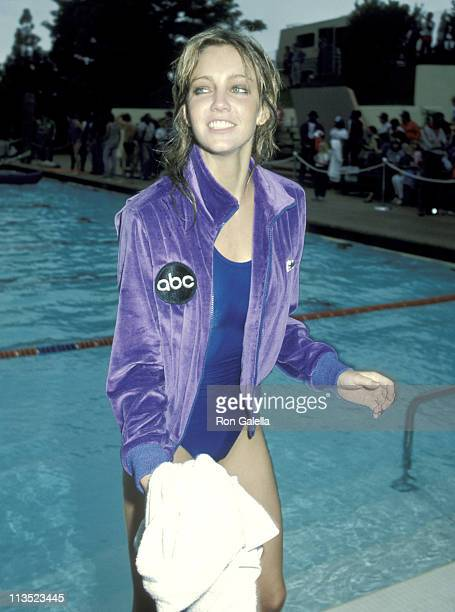 Heather Locklear during Taping of 'Battle of the Network Stars' at Pepperdine University in Malibu California United States