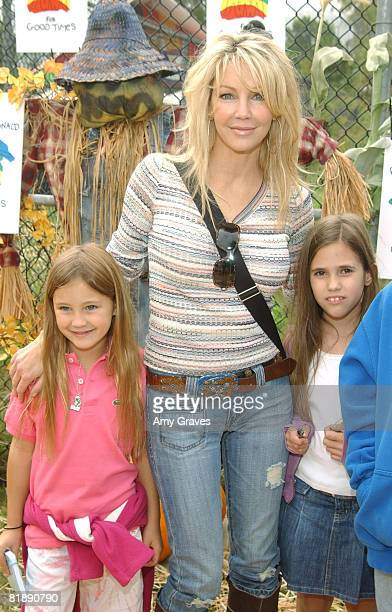 Heather Locklear her daughter and friends