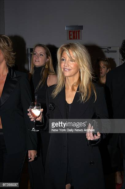 Heather Locklear is on hand for A Funny Thing Happened on the Way to Cure Parkinson's an evening of comedy at the Metropolitan Pavilion The event...