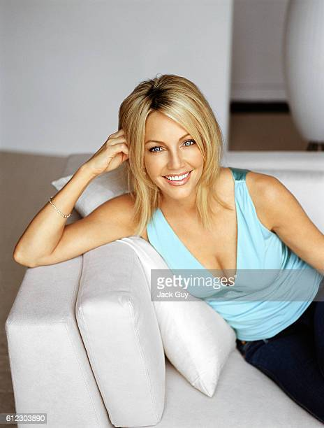Heather Locklear is photographed Ladies Home Journal in 2004 in Los Angeles, California.