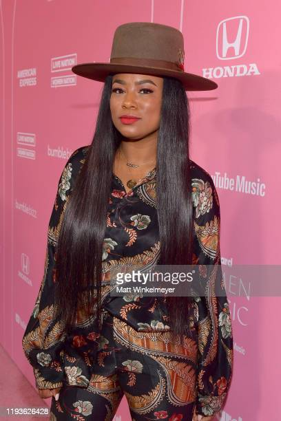 Heather Lowery attends Billboard Women In Music 2019 presented by YouTube Music on December 12 2019 in Los Angeles California