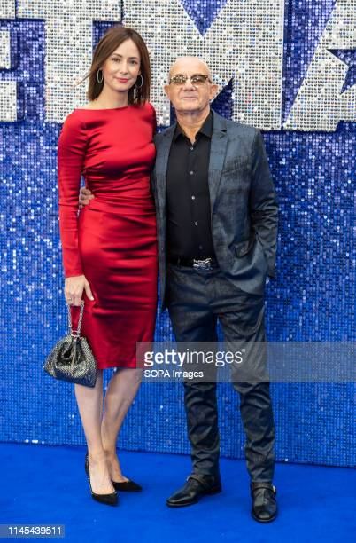 Heather Lynn Hodgins Kidd and Bernie Taupin attends the Rocketman UK premiere at Odeon Leicester Square