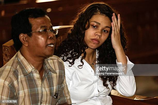 Heather Mack of the United States cries during her verdict hearing on April 21, 2015 in Denpasar, Bali, Indonesia. An Indonesian judge has sentenced...