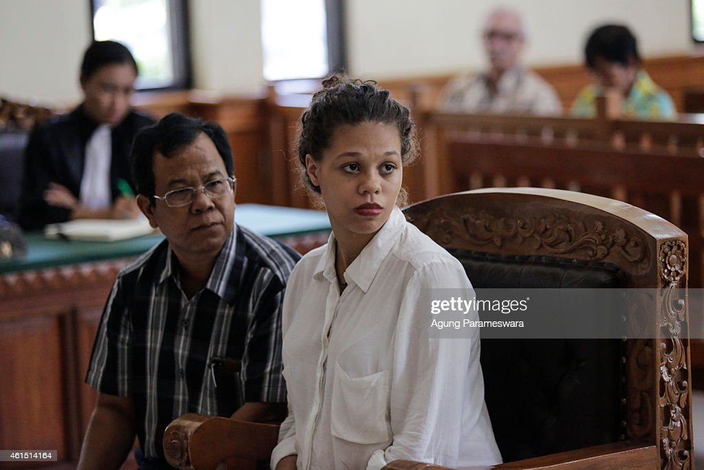 American Couple Accused Of Murdering Mother Stand Trial In Bali Court : News Photo