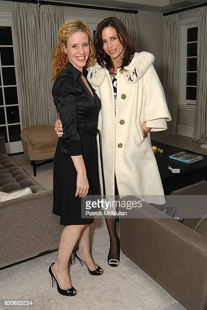Heather Magidsohn and Cristina Ehrlich attend Monique Lhuillier and Tom Bugbee celebrate their new home in honor of Margaret Russell and ELLE DECOR...