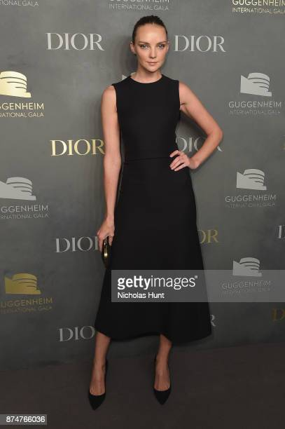 Heather Marks attends the 2017 Guggenheim International Gala PreParty made possible by Dior on November 15 2017 in New York City