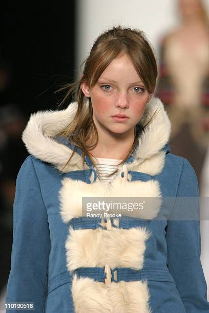 Heather Marks wearing Marc by Marc Jacobs Fall 2004