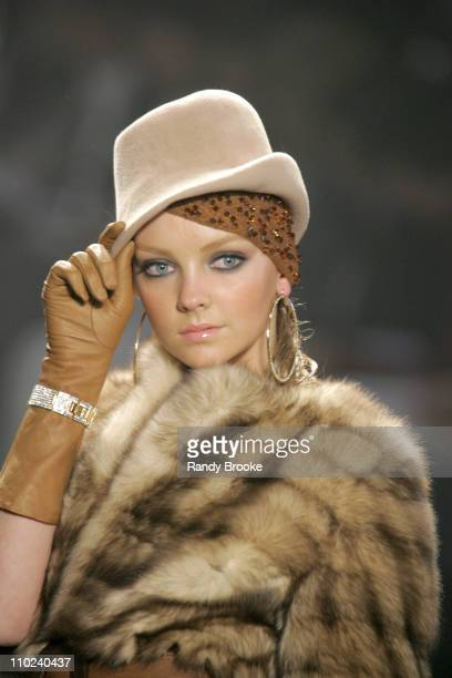 Heather Marks wearing Sweetface by Jennifer Lopez and Andy Hilfiger Fall 2005