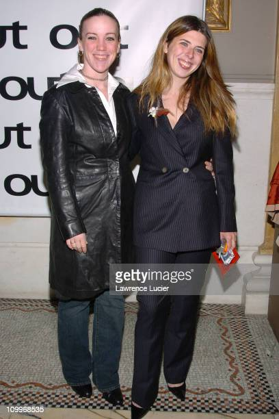 Heather Matarazzo and girlfriend during Out Magazine Celebrates Its 10th Anniversary at Capitale in New York City New York United States