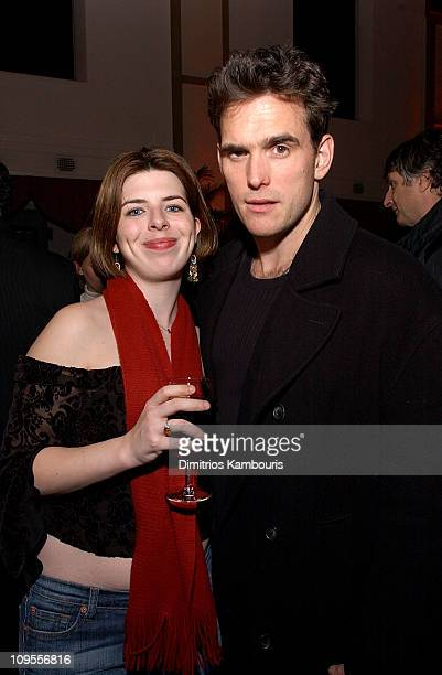 Heather Matarazzo and Matt Dillon during Nicholas Nickleby New York Premiere AfterParty at St Bartholomew's Restaurant in New York City New York...