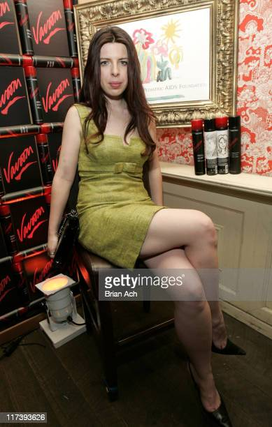 Heather Matarazzo at the Vavoom Sketching Station *EXCLUSIVE*