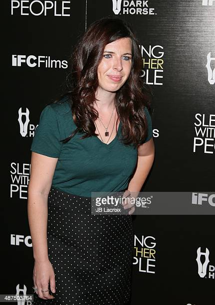 Heather Matarazzo attends the premiere of IFC Films' 'Sleeping with other people' held at ArcLight Cinemas on September 9 2015 in Hollywood California