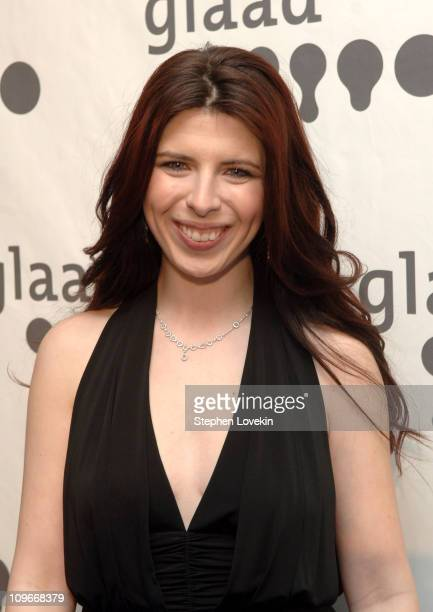 Heather Matarazzo during 18th Annual GLAAD Media Awards New York - Cocktails at Marriott Marquis in New York City, New York, United States.