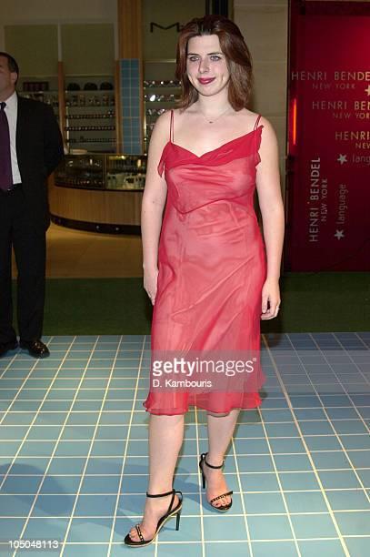 Heather Matarazzo during Language Shop Opening at Henri Bendel in New York City New York United States