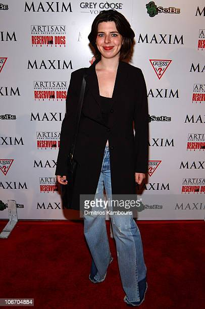Heather Matarazzo during Maxim and Artisan Home Entertainment Proudly Present Reservoir Dogs Ten Years Later at Trust in New York City New York...