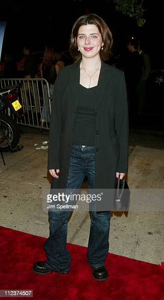 Heather Matarazzo during New York Premiere of Igby Goes Down at Chelsea West Theatres in New York City New York United States