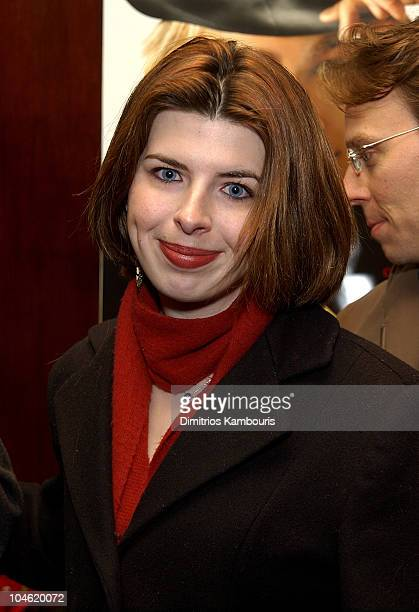 Heather Matarazzo during Nicholas Nickleby Premiere New York Inside Arrivals at Beekman Theater in New York City New York United States