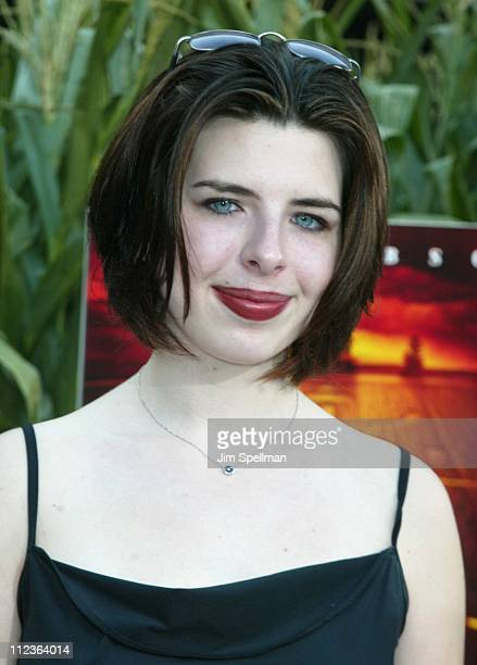 Heather Matarazzo during Signs Premiere New York at Alice Tully Hall in New York City New York United States