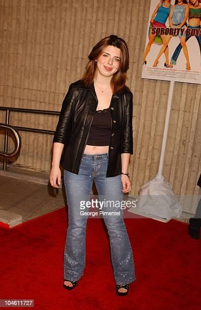 Heather Matarazzo during Sorority Boys Los Angeles Premiere at Avco Cinema Center in Los Angeles California United States