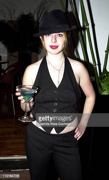 Heather Matarazzo during The Launch Party for the Sexy New Fragrances FCUK HIM and FCUK HER at LQ in New York City New York United States