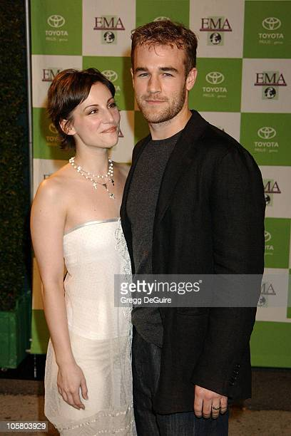 Heather McComb and James Van Der Beek during 13th Annual Environmental Media Awards at The Ebell Theatre in Los Angeles California United States