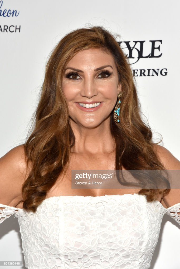 Heather McDonald attends Jill Zarin's 5th Annual Luxury Luncheon at Private Residence on July 29, 2017 in Southampton, New York.
