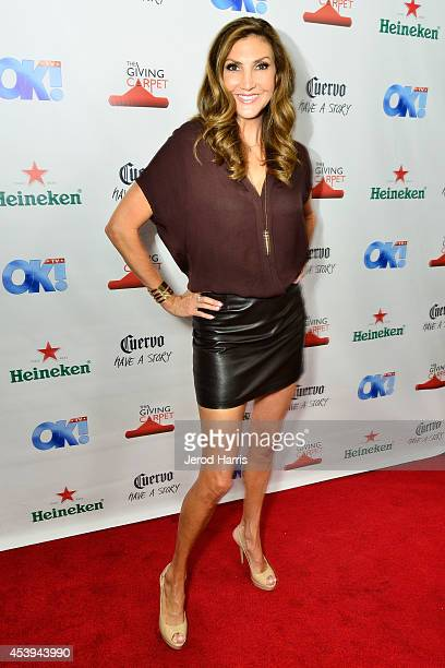 Heather McDonald attends OK TV Awards Party at Sofitel Hotel on August 21 2014 in Los Angeles California