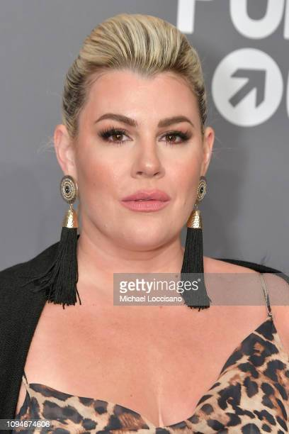 Heather McMahan attends the amfAR New York Gala 2019 at Cipriani Wall Street on February 6 2019 in New York City
