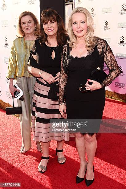 Heather Menzies Debbie Turner and actress Kym Karath attend the Opening Night Gala and screening of The Sound of Music during the 2015 TCM Classic...