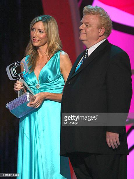 Heather Mills and Johnny Whitaker during 5th Annual TV Land Awards Show at Barker Hangar in Santa Monica California United States
