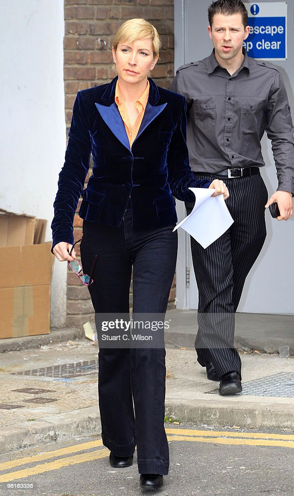 Heather Mills appears after an employment tribunal on April 1, 2010 in Ashford, Kent.
