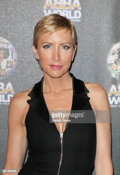 Heather Mills arrives at the ABBAWORLD Exhibition at Earls Court on January 26, 2010 in London, England.