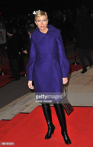 Heather Mills arrives at the ABBAWORLD Exhibition World Premiere at Earls Court on January 26 2010 in London England