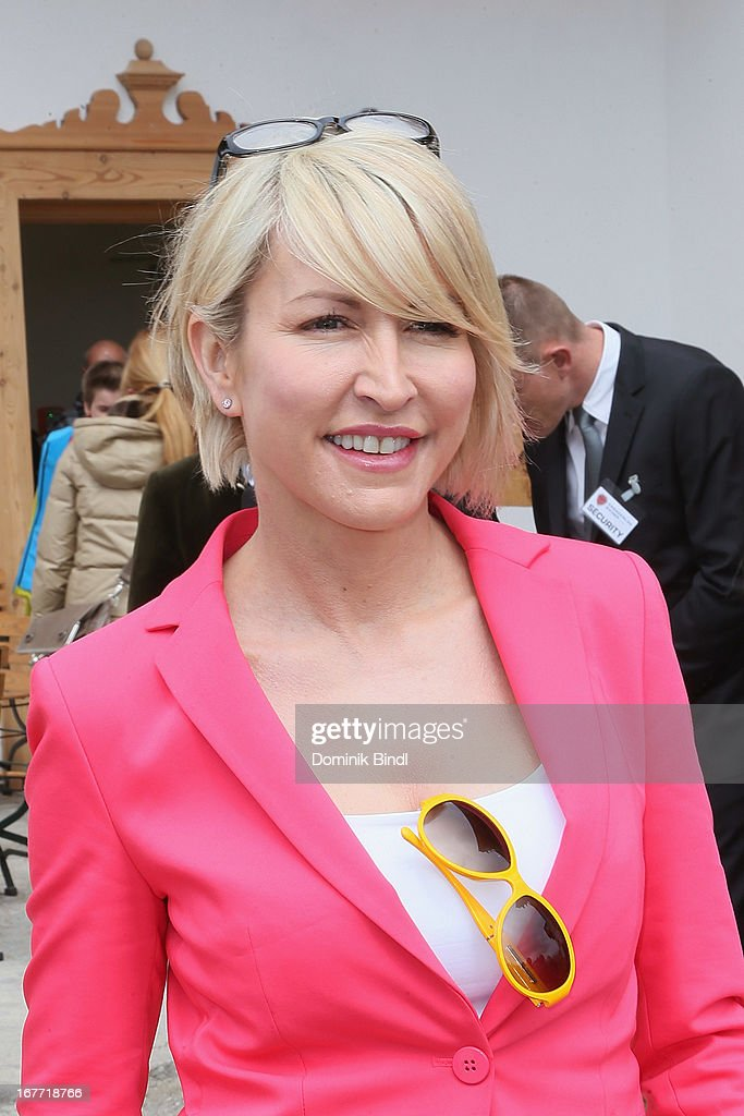 Heather Mills attends the Gut Aiderbichl Iffeldorf Opening on April 28, 2013 in Iffeldorf, Germany.
