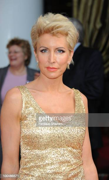 Heather Mills attends the Royal Premiere of Arabia 3D on May 24 2010 in London England