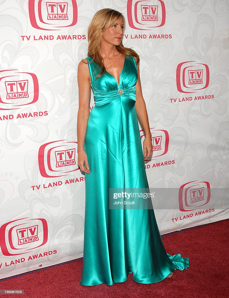 Heather Mills during 5th Annual TV Land Awards - Arrivals at Barker Hanger in Santa Monica, CA, United States.