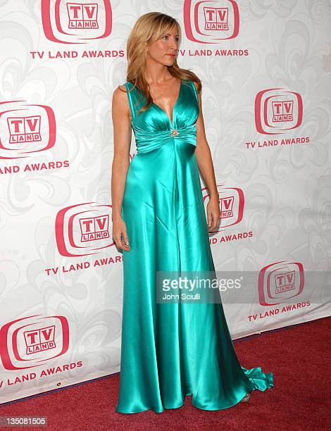 Heather Mills during 5th Annual TV Land Awards Arrivals at Barker Hanger in Santa Monica CA United States