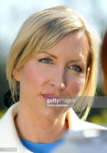 Heather Mills during Viva AntiFarrowing Crate Campaign Photocall March 15 2007 at College Green Millbank Westminster in London Great Britain
