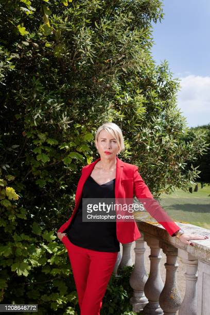 Heather Mills is photographed for Contact magazine on July 3, 2019 in Seaham, England.