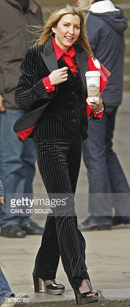 Heather Mills leaves the High Court in central London on February 15 2008 Paul McCartney's estranged wife Heather could not resist a dig at the pop...