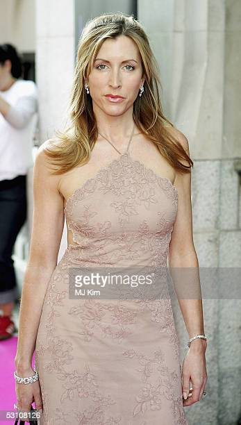 Heather Mills McCartney arrives at the In The Pink charity party in aid of Breast Cancer Haven at Cadogan Hall on June 20 2005 in London England