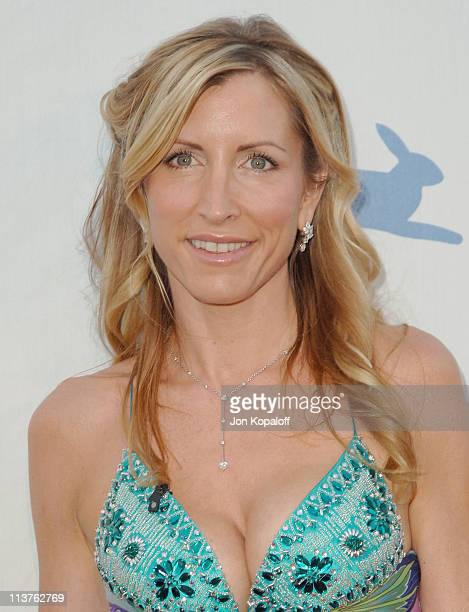 Heather Mills McCartney during 25th Anniversary Gala for PETA and Humanitarian Awards Arrivals at Paramount Pictures in Hollywood California United...