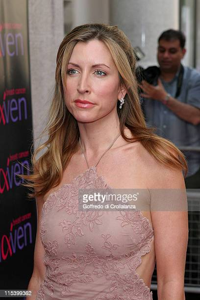 Heather Mills McCartney during In The Pink Charity Evening in Aid of Breast Cancer Arrivals at Cadogan Hall in London Great Britain