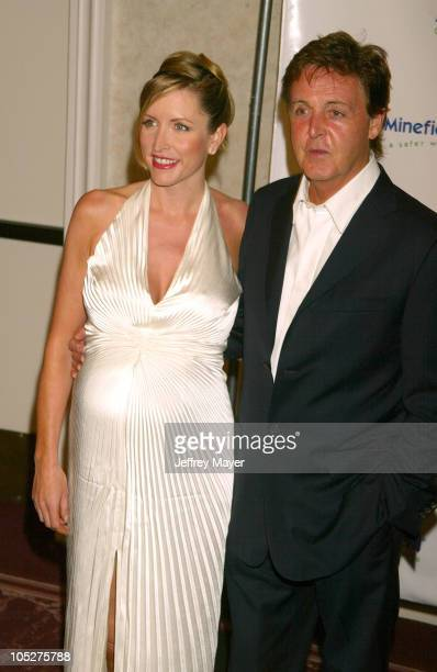Heather Mills McCartney Sir Paul McCartney during The 3rd Annual AdoptAMinefield Benefit Gala at Beverly Hilton Hotel in Beverly Hills California...