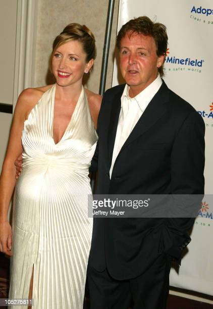 Heather Mills McCartney & Sir Paul McCartney during The 3rd Annual Adopt-A-Minefield Benefit Gala at Beverly Hilton Hotel in Beverly Hills,...