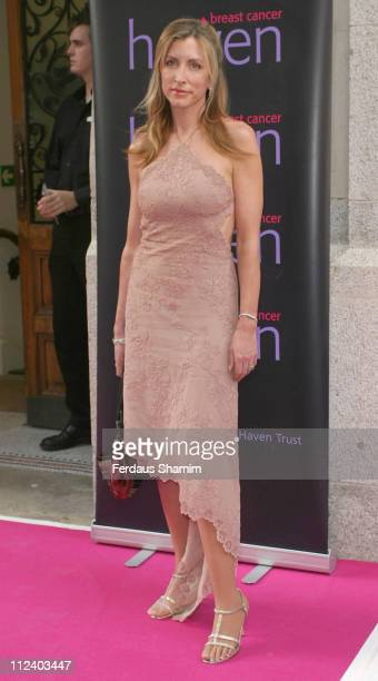 Heather MillsMcCartney during In The Pink Charity Evening in Aid of Breast Cancer at Cadogan Hall in London Great Britain