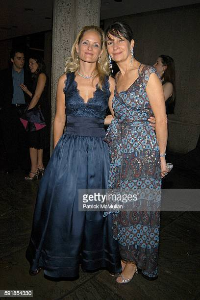 Heather Mnuchin and Brooke Neidich attend Whitney Museum of American Art hosts the 2005 WHITNEY GALA and After Party at Whitney Museum of American...