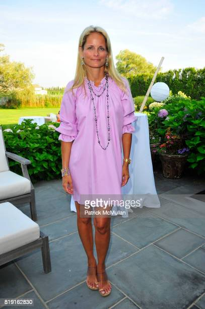 Heather Mnuchin attends Summer Reception in Southampton for New YorkPresbyterian Hospital hosted by Heather and Steven Mnuchin and Myrna and John...