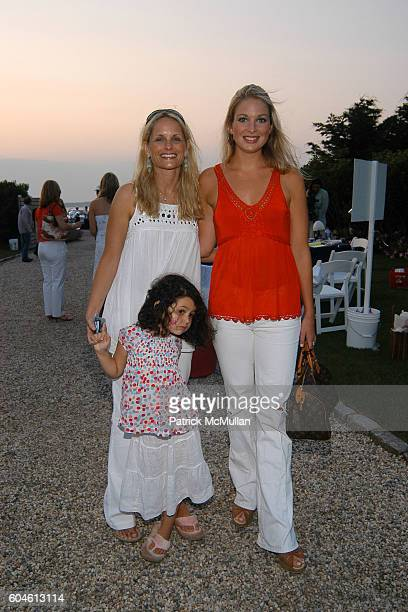 Heather Mnuchin, Emma Mnuchin and Kate Baldt attend The Annual American Picnic To Benefit The SOUTHAMPTON FRESH AIR HOME at Private Residence on June...