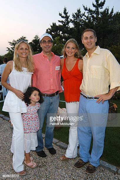 Heather Mnuchin, Emma Mnuchin, Steven Mnuchin, Kate Baldt and Ashton Crosby attend The Annual American Picnic To Benefit The SOUTHAMPTON FRESH AIR...